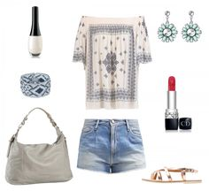 #outfit Summer Breeze ♥ #outfit #outfit #outfitdestages #dresslove