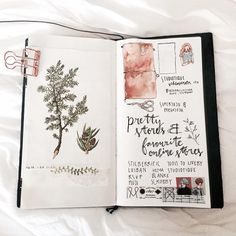 Finally I decorated the diets pages of my plain notebook in my #travelersnotebook what do you think ? And what do you use your plain notebook for ?