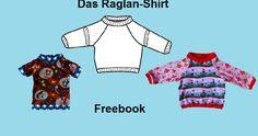 Der Raglan-Schnitt gehört wie auch  der  Rundhals-Schnitt zu den Basis-Schnittarten und kann vielfältig  ausgestaltet werden. Im Unters...