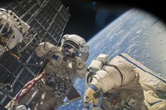 This is the 184th #spacewalk for #ISS maintenance & assembly, 7th this year & 3rd this month.