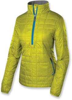 At REI Outlet: Isis Nimble Anorak — An insulated layer that won't make you feel all puffy.