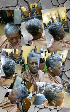 Hair cut..