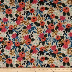 Moda Fabric Calico Rustic Cotton White 6oz 45 Inches Wide Per 1//4 Metre