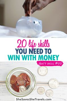 Save more money, budget money better and get out of debt with these necessary life skills. | Pay off Debt | Budgeting Finances | Debt Free Community | Budgeting Money | How to Save Money Money Budget, Money Tips, Budgeting Finances, Budgeting Tips, Finances Debt, Debt Payoff, Debt Free, Life Skills, Saving Money