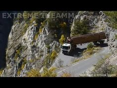 Tractor Gallery » EXTREME TRUCK DRIVERS , DANGEROUS ROAD MERCEDES ACTROS V8