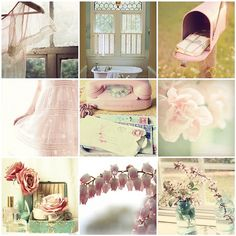 muted pink