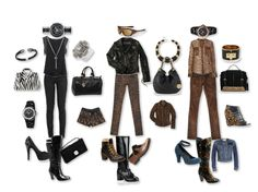 Style Statements Black & Brown by Laura Leeds What to wear by Laura Leeds