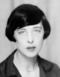 Solita Solano (1888–1975) was an American writer, poet and journalist. photo by Man Ray, 1929