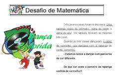 .  Atividades de Matemática - Desafios         Para receber atualizações do Atividades e Desenhos Digite seu e-mail :    Feedburner-Google V...