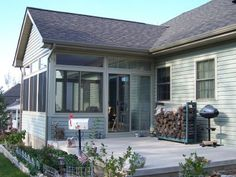 3-season porch idea.  This is it!