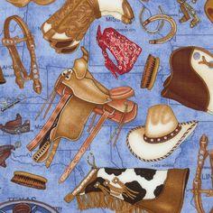 More cowboy fabric