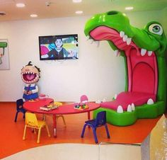 Pediatric Dentist waiting room www.prodental.com