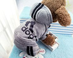 size XS -XXL 6 color 4 legs Dog clothes, puppy dog hoodie dog winter clothes sweater costumes