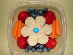 lunch bento  I made cute little lunches for my little girl 25 years ago like this - way before it was cool!