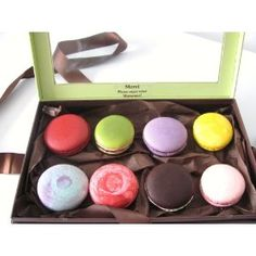 Leilalove gluten free cookies, assorted 8 macarons 5 flavors. we already gift wrapped it for you!
