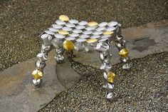 Bracelets, Jewelry, Steel Art, Metal Fabrication, Jewels, Schmuck, Jewerly, Bracelet, Jewelery