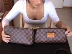 ▶ Louis Vuitton Eva Clutch vs. Pochette Accessories NM Part I - YouTube