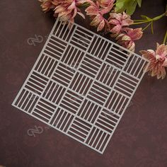 NCraft Stencil S46 Scapbook Stencil Cake Decorating Tool scrapbooking-in Stamps from Office & School Supplies on Aliexpress.com | Alibaba Group