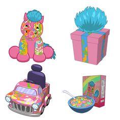 Tie Dyed Pony