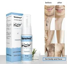Organic Herbal Permanent Hair Growth Inhibitor Spray Repair Nourish Smooth Body Hair Removal Cream Private Parts Leg Facial Hair. Hair Removal Spray, Hair Removal Cream, Beauty Care, Beauty Skin, Beauty Hacks, Diy Beauty, Tips Belleza, Health And Beauty Tips, Hair Growth