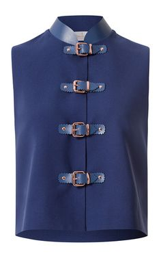 Katonas vest by MARINA HOERMANSEDER for Preorder on Moda Operandi