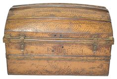 1850s English Tin Trunk on OneKingsLane.com