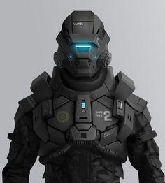 Le Manoosh -  great robot art/design