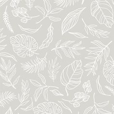 Evergreen Removable Wallpaper // Temporary Peel and Stick