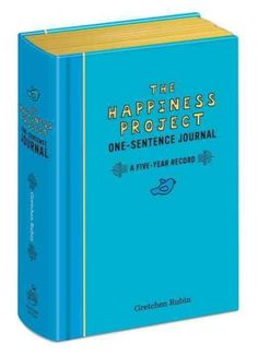 365 days. 5 years. 1,825 moments captured. In her best-selling book <i>The Happiness Project</i>, Gretchen Rubin discovers the pleasure of writing just one sentence every day.<i>The Happiness Project One-Sentence Journal </i>helps you to make a fascina...