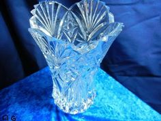Vintage Vincennes Cristal D'Arques French Vase c 1992 by JG Durand and Company