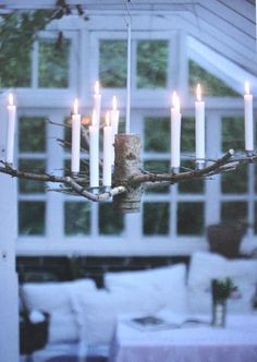 Rester af en gammelt juletræ