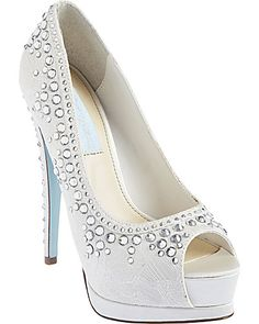 Shop for Vow Satin Lace Rhinestone Pumps by Betsey Johnson at ShopStyle. Blue By Betsey Johnson, Betsey Johnson Dresses, Designer Rain Boots, Pump Shoes, Pumps, Special Occasion Shoes, Wedding Heels, Evening Shoes, Party Shoes