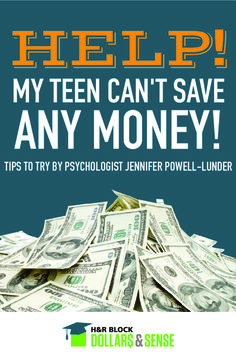 Help! What if My Teen Can't Save Any Money? #parenting #money