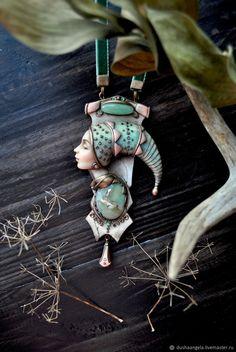 """Кулон """"Dremlea """" скульптурная миниатюра – купить в интернет-магазине на Ярмарке Мастеров с доставкой"""