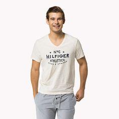 Tommy Hilfiger Cotton Jersey V-neck T-shirt - eggnog-pt (Brown) - Tommy Hilfiger Lounge & Sleepwear - main image