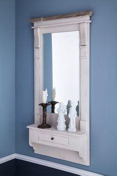 Zrcadlo s poličkou 50x101x12cm