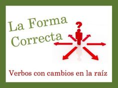 Spanish Speaking and Writing Powerpoint Activity: Stem-Change Verbs
