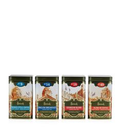 Harrods Tea and Coffee Gift Pack (4 x 50g) | Harrods.com