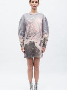 Sweatshirt Dress Mountains   NOT JUST A LABEL    BLANKBLANK     £100.00
