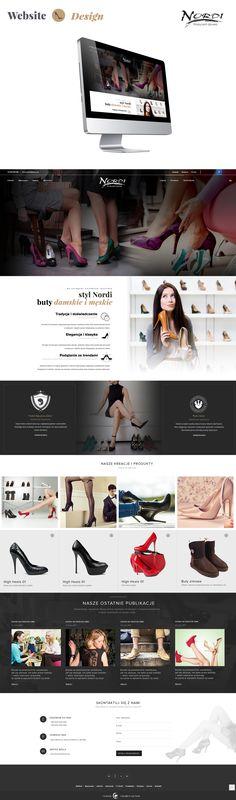 Nordi Shes - Website Design