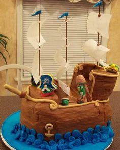 Veggie Tales Jonah Birthday Cake By ToniRod on CakeCentral.com
