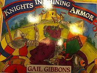 Excellent book to go with knights and castles theme