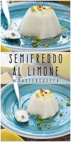 Semifreddo al limone Dessert In A Mug, Mousse Dessert, Individual Desserts, Great Desserts, Sicilian Recipes, Sorbets, Sweet And Salty, Frozen Treats, Cheesecake Recipes