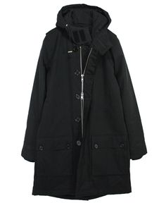 DR.DENIM/ドクターデニム - Julian (ジュリアン) パーカコートジャケット Black (ブラック) 101