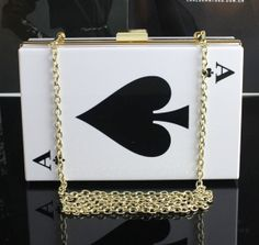 Acrylic Bow Clutch Transparent Clutch Clear Purse by UniqueNeons, $52.00