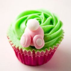 bunny butt cupcakes...yum