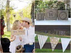 Party Trend: Burlap Adds Rustic Charm to Weddings + Fetes | Design Happens