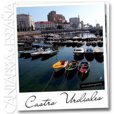 Castro Urdiales es una villa marinera de Cantabria, cargada de historia, mantiene un peculiar casco histórico que invita a pasear entre sus callejuelas, al lado del mar o disfrutar de sus playas de aguas transparentes.