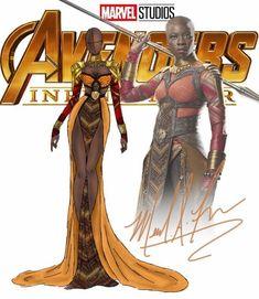 Marvel Costumes Reimagined As Elegant Evening Dresses Character Drawing, Comic Character, Moda Marvel, Marvel Memes, Marvel Comics, Marvel Universe, Marvel Dress, Arte Black, Marvel Fashion