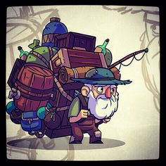 The traveling merchant from Bullet Age. #gamedev #indiedev #BulletAge
